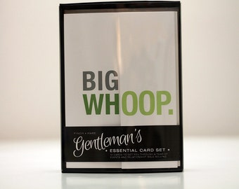 Gentleman's Essential Card Set - 10 funny fold-out cards to get you through  a