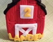 Barn Cake Topper