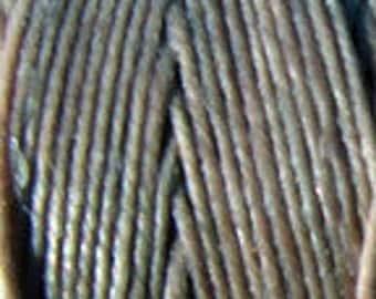 5 Yards Slate Grey 4 ply Irish Waxed Linen Thread