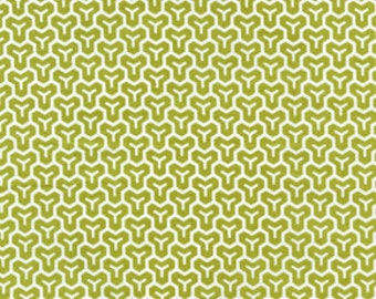 Fabric Joel Dewberry  Modern Meadow  Honey Comb in Grass 1 Yard