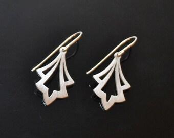 Silver AGAPANTHAS Drop Earrings