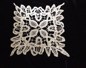 Antique Tape Lace Doily