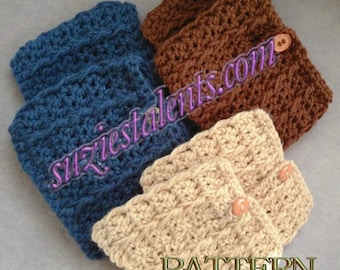 Free Printable Crochet Patterns For Leg Warmers : Popular items for boot warmers on Etsy