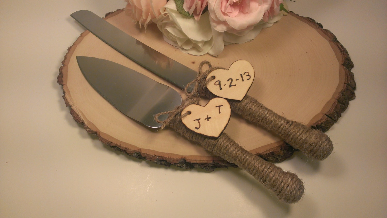 Rustic Wedding Cake Cutter