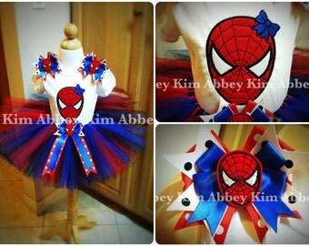 Spidergirl tutu set