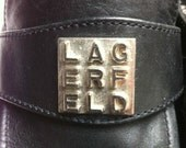 CRAZY SALE Karl Lagerfeld loafers vintage small size shoes 36