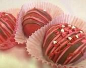 Red Velvet Cake Truffles (12)