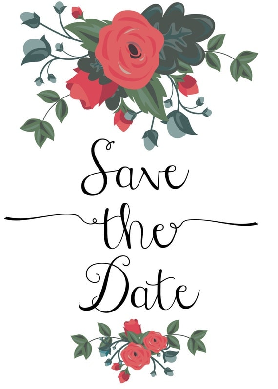 items similar to save the date digital clip art on etsy save the date clip art images save the date clipart free