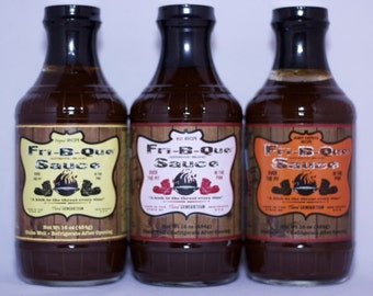 FriBQue BBQ Sauce 3 Pack