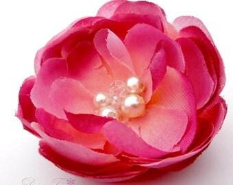 Bridal hair jewelry - hair flower
