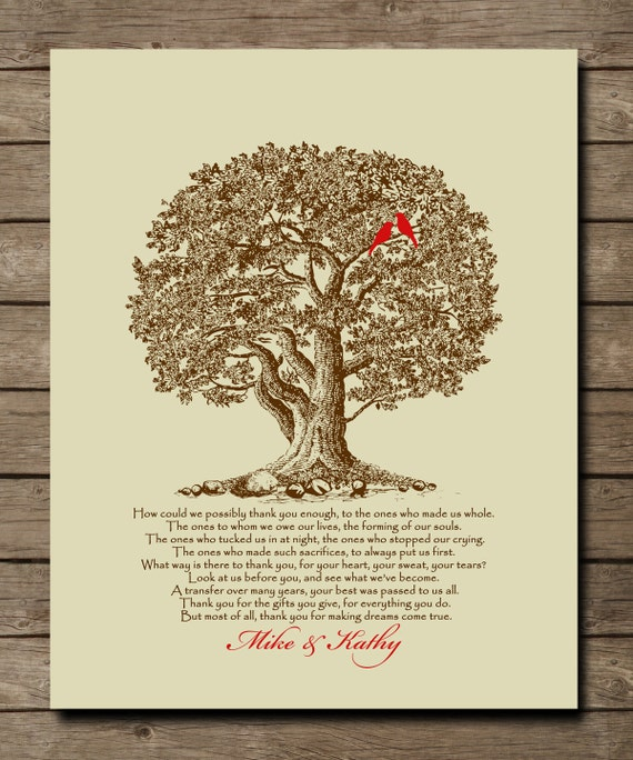 Wedding Gift For Groom Dad : Wedding Gift for Parents from Bride and Groom, Thank you gift for ...