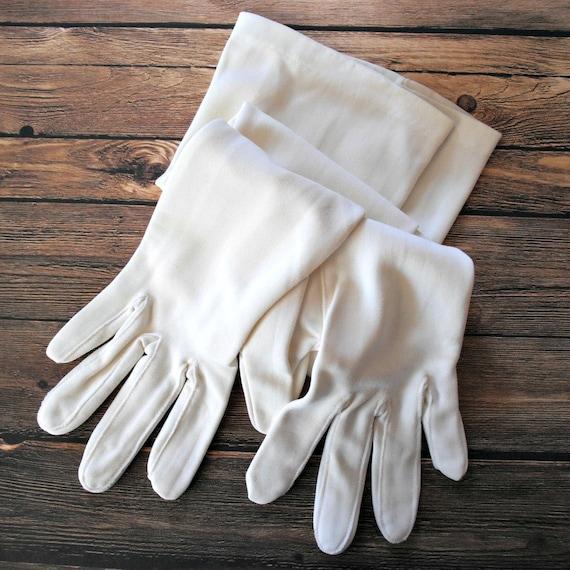 Vintage opera length gloves