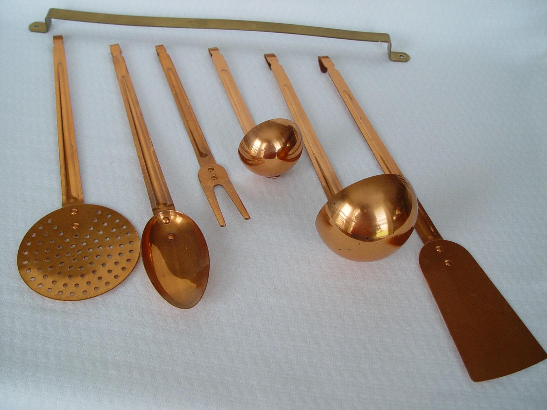 Copper Kitchen Utensils For Sale