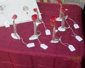 silverplated bud vase