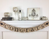 Congrats Banner, Graduation Decorations, Grad Banner, Graduation Banner, Graduation Party, Graduation Cap