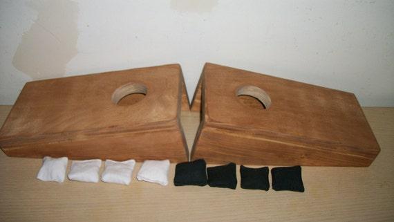 Mini Tabletop Cornhole Baggo Bean Bag Toss By
