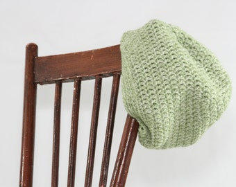 Ladies Slouch Hat- Green