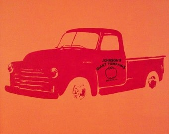 "1947 Chevy Truck Pop Art Painting Custom 16""x20"" Canvas"