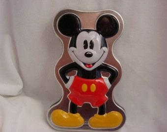 Micky Mouse Tin