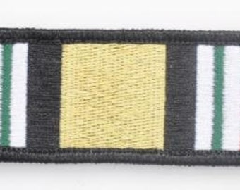 Tactical IRAQ CAMPAIGN MEDAL ribbon Velcro Morale patch