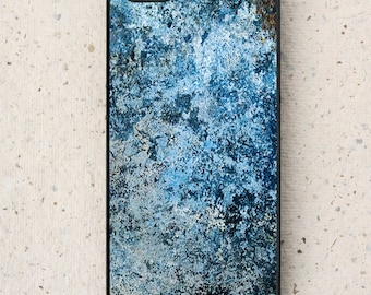 iPhone Cover(all models) - Blue Cosmos - smartphone - mobile - Abstract Design - Samsung Galaxy S3 S4 S5 S6 S7, LG,HTC & other models