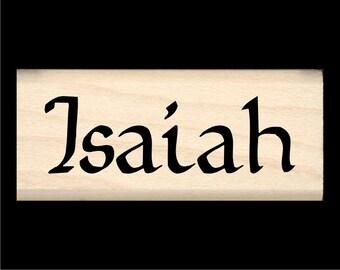 Name Stamp - Isaiah