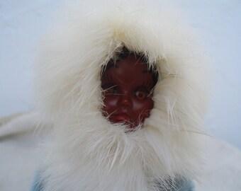 Vintage Collectible Eskimo Doll