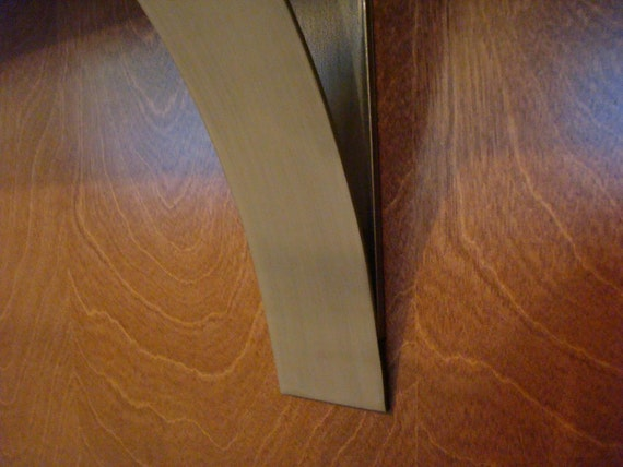 Modern 9 Inch Brushed Stainless Steel Countertop Corbel