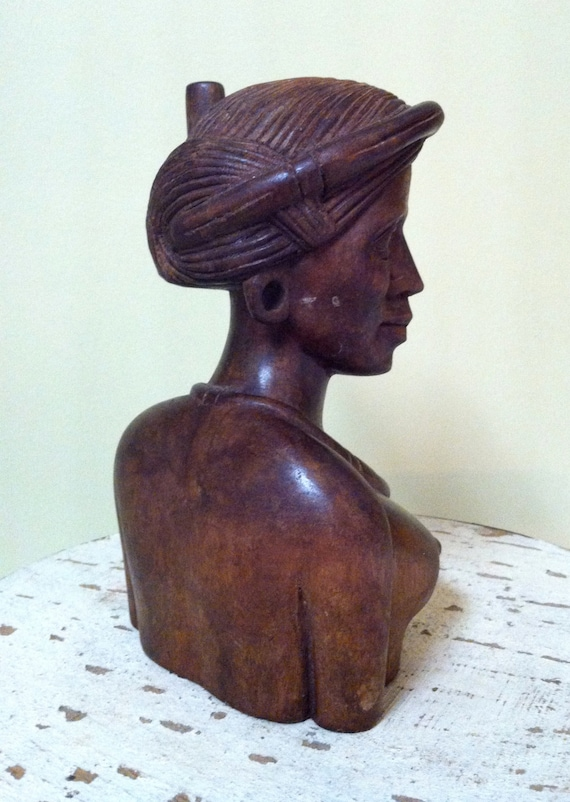 Items similar to beautiful african queen hand carved wood