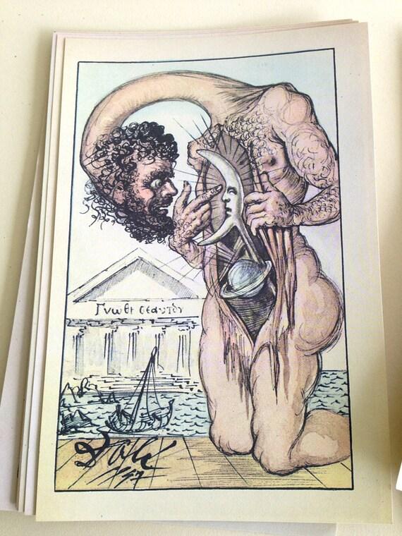 essays of michael de montaigne illustrated by salvador dali