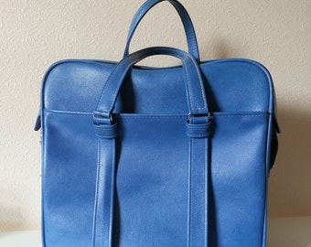 Blue Samsonite Siloutte Carry On Luggage