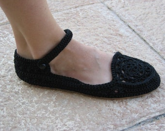 Strap Shoes Crochet Pattern