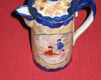 Japanese Cocoa pot.