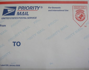 USPS Priority Mail  2-3 days