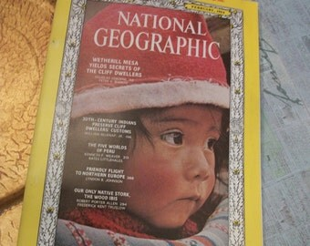 National Geographic Magazine February 1964 Vol. 125. No. 2