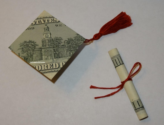 graduation money origami pictures to pin on pinterest
