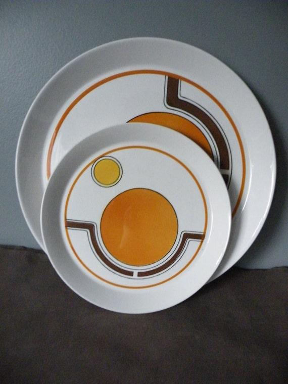 Reserved for lauren funky vintage mikasa orbit - Funky flatware sets ...
