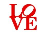ANNIVERSARY CARD or Gift for a boyfriend, husband, girlfriend or wife. Philadelphia LOVE