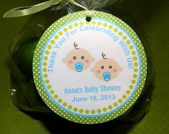 Twin Baby Shower- Twin Baby Shower Favor- Twin Baby Shower Decoration-Twin Baby Shower