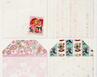 Daisy D's Valentines Cardstock Die Cuts 8 Tags in each Package  They are so Fun to Use