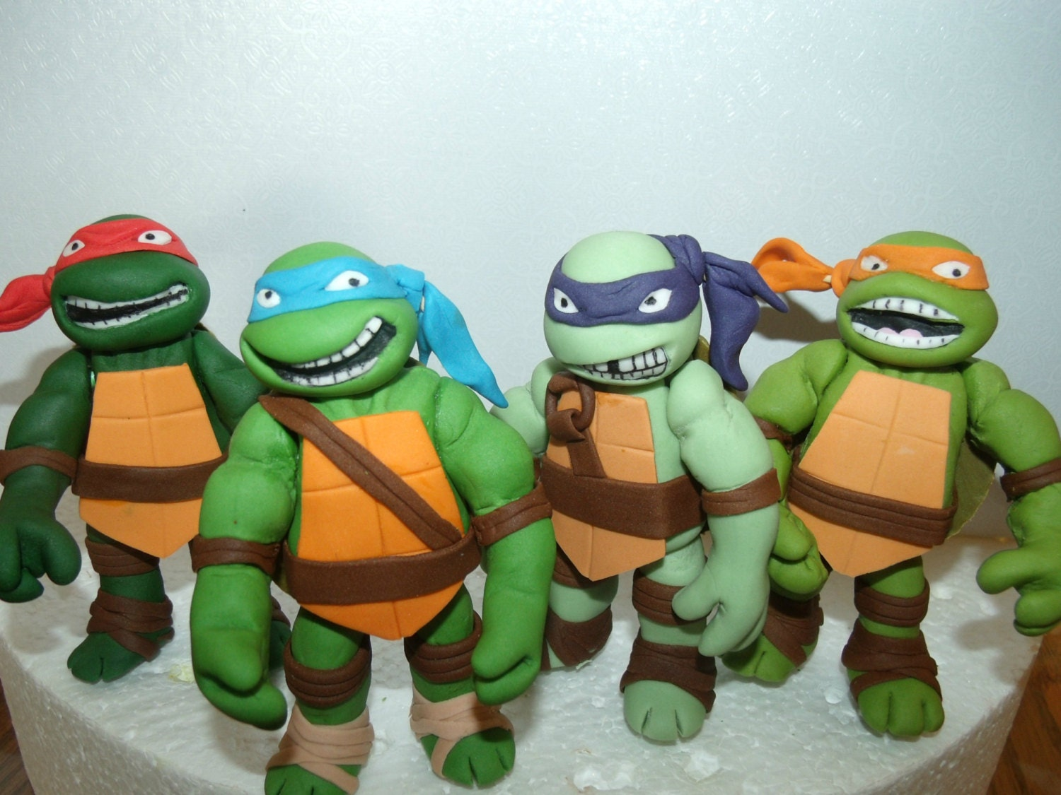 How To Make Teenage Mutant Ninja Turtles Cake Toppers