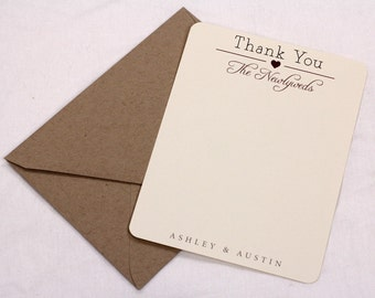 Vintage Thank You Cards // Purchase this Deposit Listing to Get Started