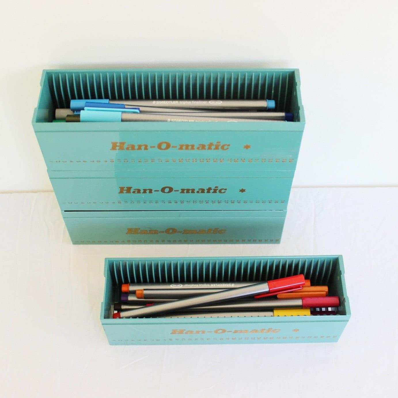 Items Similar To Unique Desk Organizer Slide Box