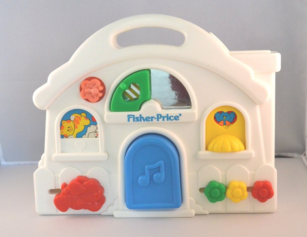 vintage 1993 fisher price baby activity center fisher price. Black Bedroom Furniture Sets. Home Design Ideas