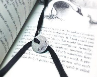Adjustable Bookmark - Personalized Custom Hand Stamped Creation