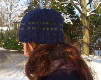 Morse Code 'Geek' Beanie Hat
