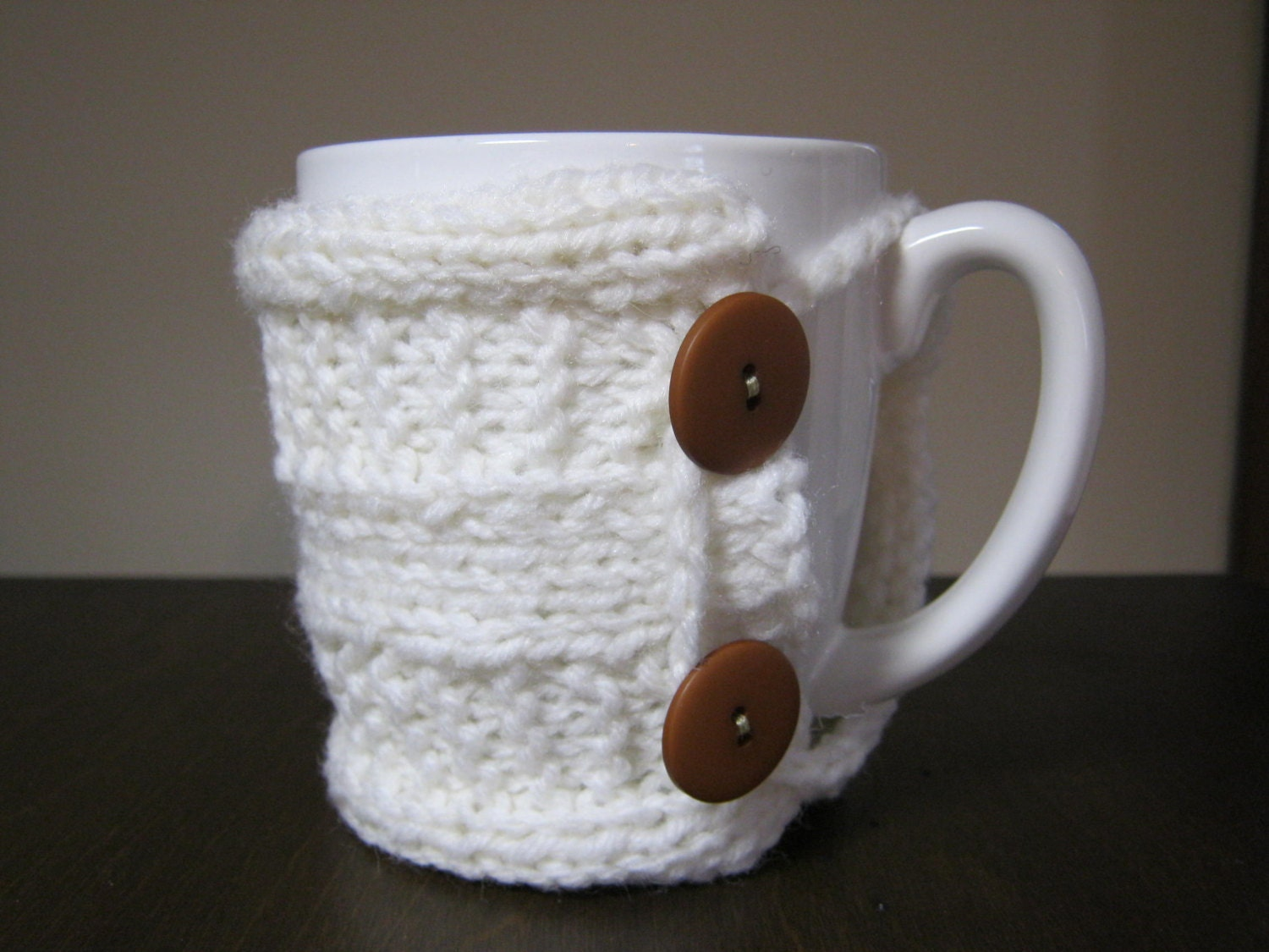 coffee mug cozy pattern pdf Valentines knit pattern tea cozy