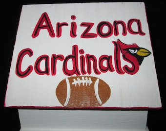 Arizona Cardinals Birdhouse with Shazaam