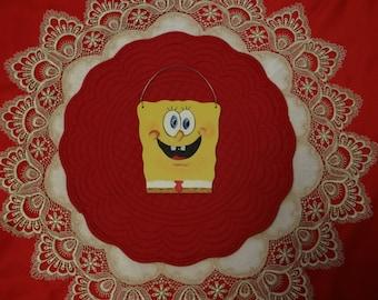 Sponge Bob Wooden Sign