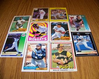 50 San Diego Padres Baseball Cards